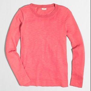 J. Crew Factory Cotton Wool Teddie sweater #3787
